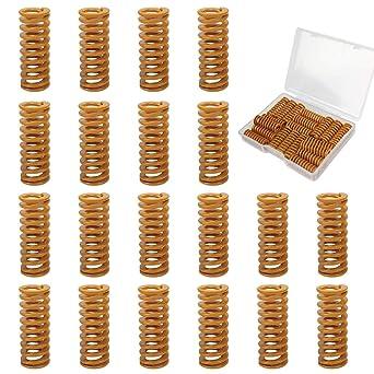HAWKUNG 20 Piezas Impresora 3D Accesorios Springs, 0.31 in OD 0.78 ...