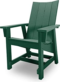 product image for Hatteras Hammocks Forest Green Conversation Chair, Eco-Friendly Durawood, All Weather Resistance, Fit 'N' Finish Handcrafted in The USA …