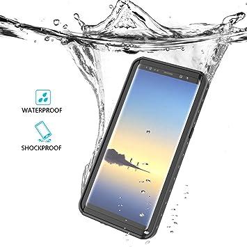 Funda Galaxy Note 8, BasicStock Funda Impermeable Para Samsung Note 8 [Resistente a los Rayones] [Protección de 360 grados], Carcasa para Samsung ...