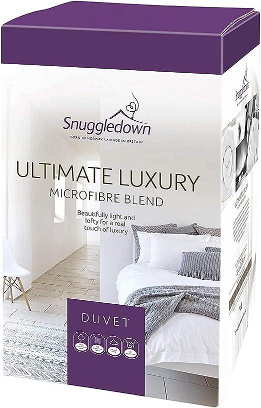 Snuggledown Edredón nórdico Luxury Ultimate, algodón, Blanco ...