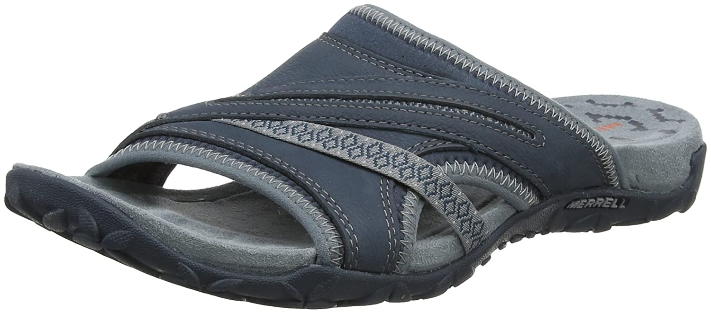 Merrell Women's Terran Slide II Sandal B078474W4K 11 B(M) US|Dark Slate