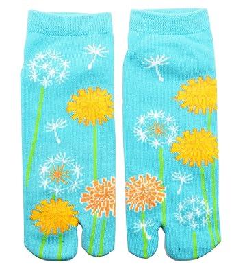 "Tabi calcetines ""satoyama japonés Split 2 par Toe Ninja Geta Flip Flop Sandalia calcetines"