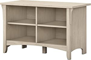 Bush Furniture Salinas Shoe Storage Bench in Antique White
