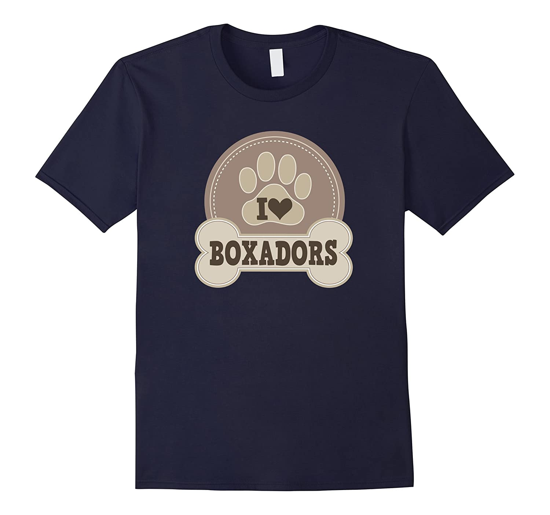 Boxador T-shirt Dog Lover Pet Owner Gift Idea-ANZ