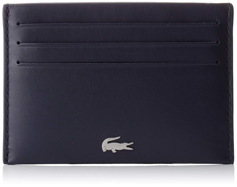 Lacoste - Nh1346fg, Tarjeteros Hombre, Azul (Peacoat), 0.5x7.5x11 cm (W x H L): Amazon.es: Zapatos y complementos