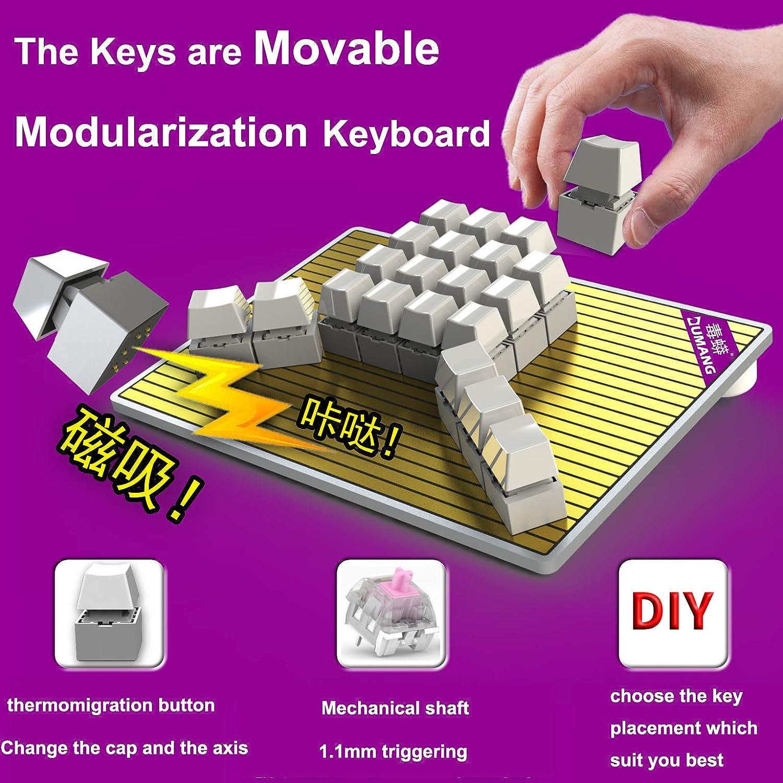 Amazon Com Custom Game Keyboard Layout Mod Diy Magnetic Rgb