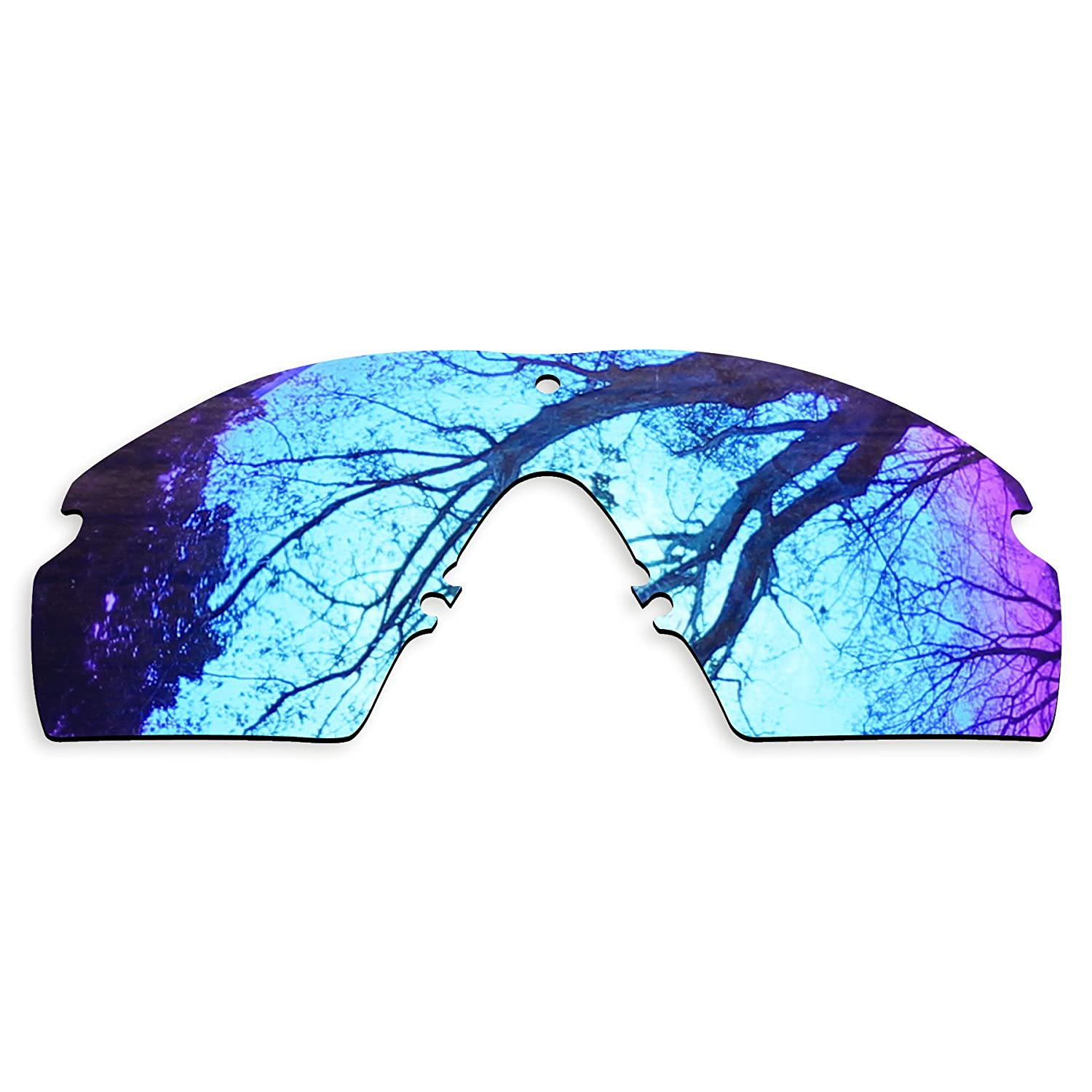 6b46a975703 ToughAsNails Polarized Lens Replacement for Oakley SI Ballistic M Frame 3.0  Sunglass - Violet Blue  Amazon.ca  Clothing   Accessories