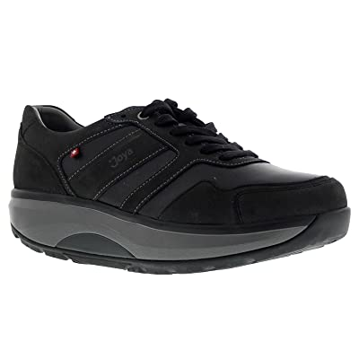 JOYA Mens ID Casual Leather Trainers | Fashion Sneakers