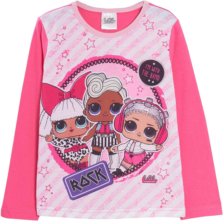 L.O.L Surprise Pigiama lungo da bambina colore rosa Im with the Band 9-10 Anni