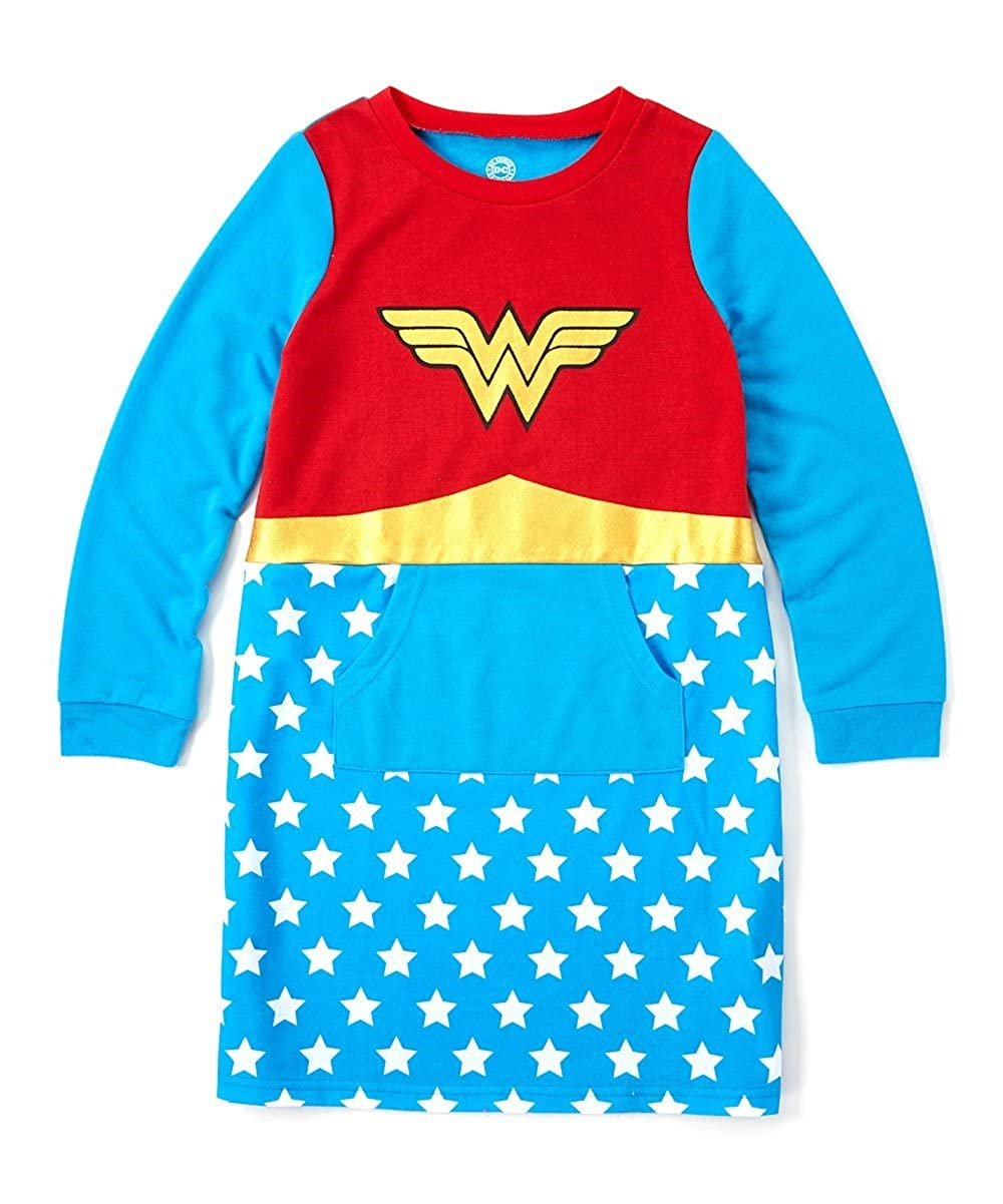 DC Comics Girls Big Wonder Woman French Terry Nightgown