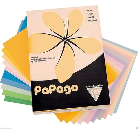 Papago A4 Copier Paper Intense Purple 80Gsm 500 Sheets