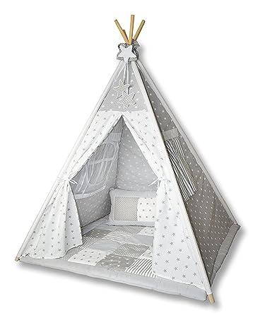 Amilian® Tipi Spielzelt Zelt für Kinder T01 (Spielzelt mit der ...