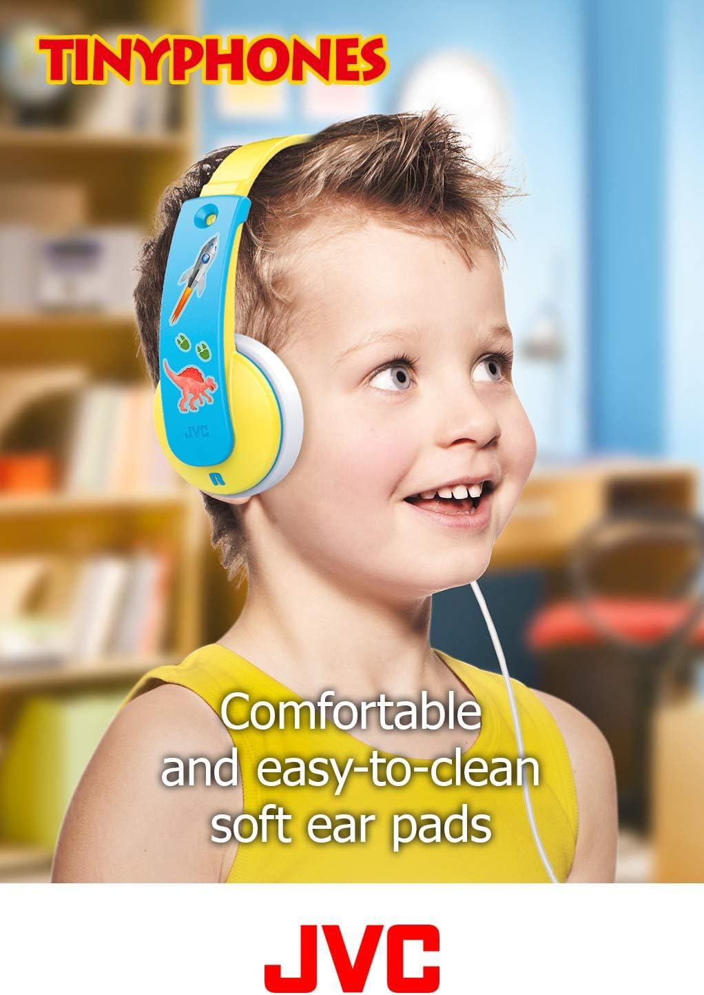 Jvc Hakd7y Kinder Tinyphone Mit Lautstärkebegrenzung Elektronik
