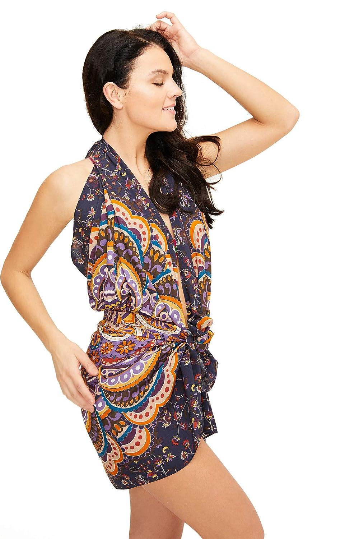 Womens Mandala Sarong Beach Swimsuit Bikini Cover up Wrap /& Buckle