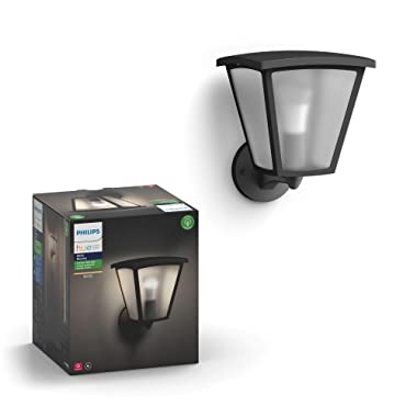 Philips Hue 802033 Lucca Outdoor Lantern, One Size Black