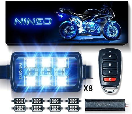 Amazon.com: NINEO - Juego de tiras de luces LED RGB ...