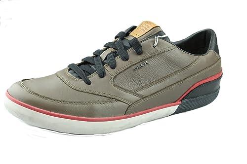 Scarpe Geox walkings Uomo Scarpe Sneakers Scarpe Basse Marrone Nuovo