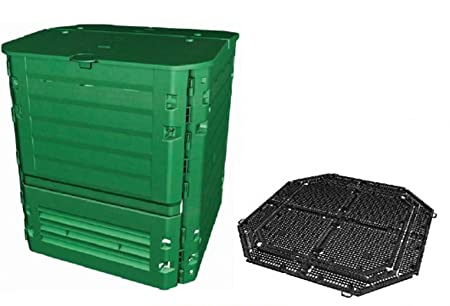 PEGANE Kit compostador Thermo-King Coloris Verde con Rejilla ...
