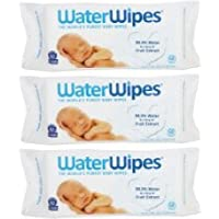 WaterWipes Sensitive Baby Wipes, 60 Count - 3 Packs