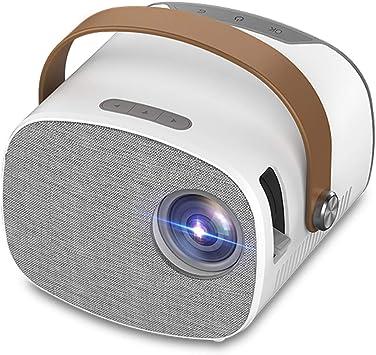 Opinión sobre YG230 Mini proyector portátil Full HD 1080P Video Beamer Home Theater Multipantalla Reproductor Multimedia Soporte HD USB Micro USB AV TF Tarjeta de Entrada Reproductor de Video