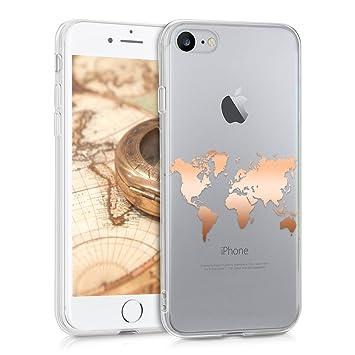 handyhülle weltkarte kwmobile Apple iPhone 7/8 Hülle   Handyhülle: Amazon.de: Elektronik handyhülle weltkarte