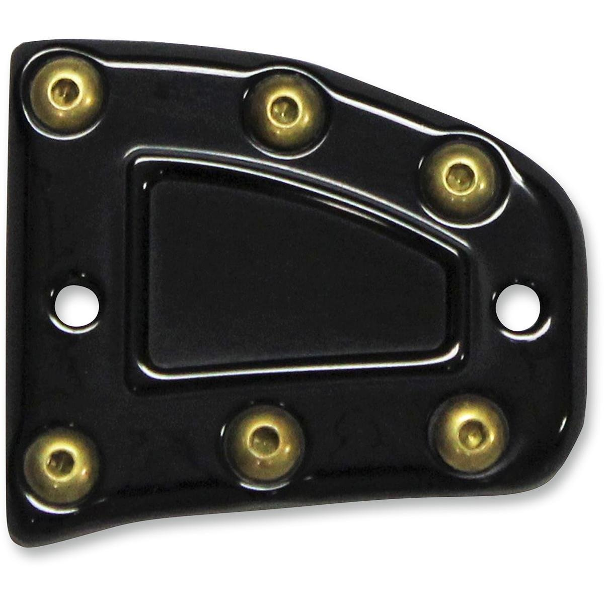 Brouhard Designs Bomber Series Master Cylinder Front Cover Kit - Black Anodized
