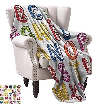 Amazon.com: Luckyee Digital Printing Blanket,Hand Drawn ...