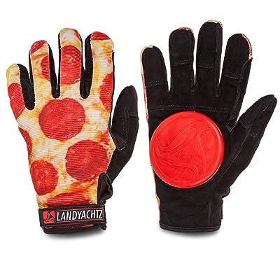 Landyachtz Pizza Hands Slide Gloves : Sports & Outdoors