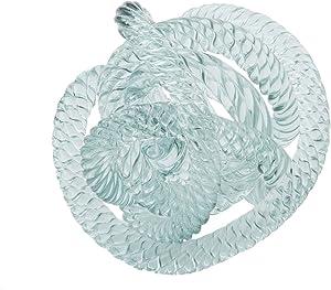 Beachcombers SS-BCS-20740 5 Inch Glass Decorative Tabletop Figurine, Light Blue