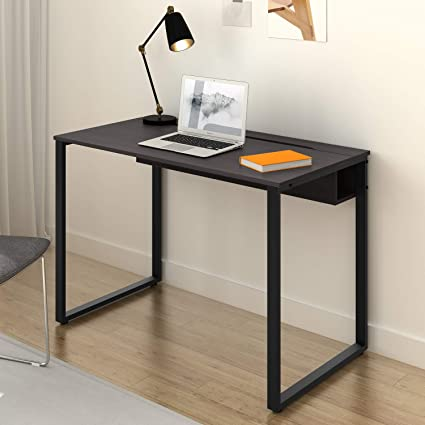 Amazon.com : DEVAISE Computer Desk Home Office Workstation With Built In  Cable Management : Office Products