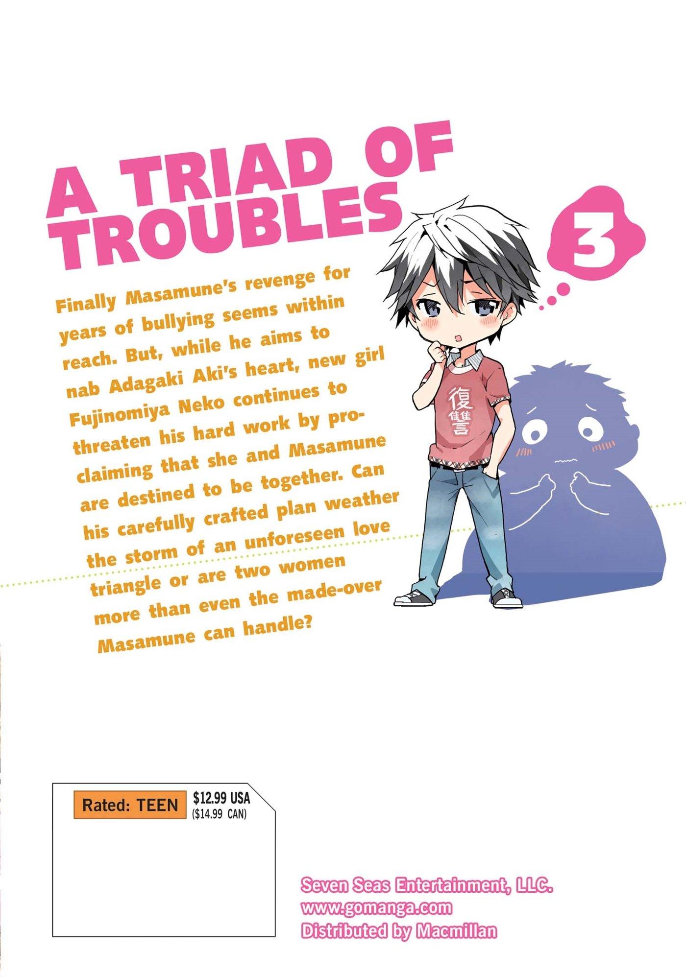 1,2,3,4,5,6 Manga Graphic Novels Set English Masamune-kun/'s Revenge Vol