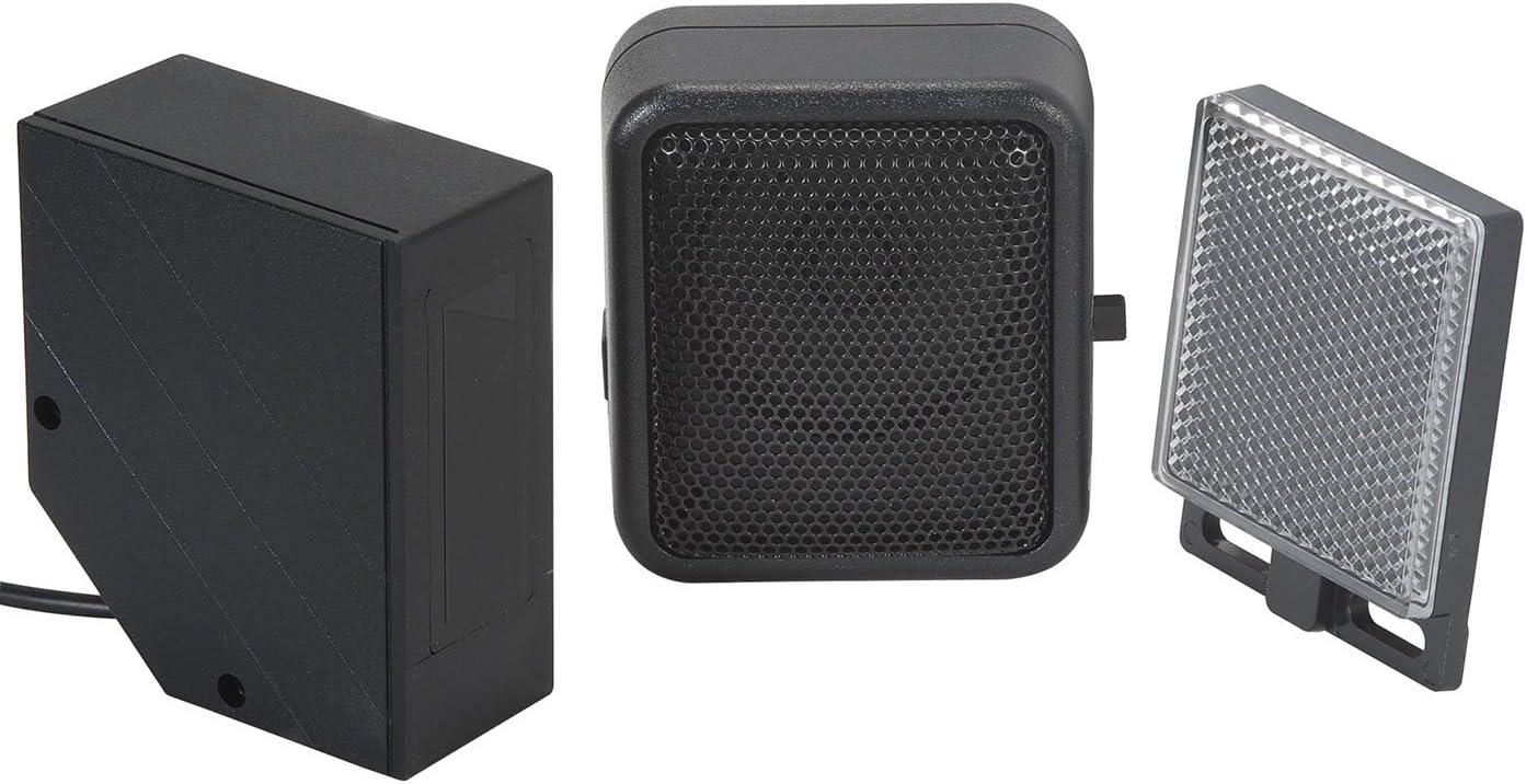 Nineleaf sensor Capteur dalarme de sonnette infrarouge Chargeur de passage de cloche ou d/étecteur dentr/ée Bienvenue invit/é avec 32 m/élodies pour daffaires /à domicile 2 infrarouge 2 r/écepteur
