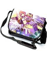 YOYOSHome Anime No Game No Life Cosplay Messenger Bag Shoulder Bag Handbag Crossbody Backpack School Bag