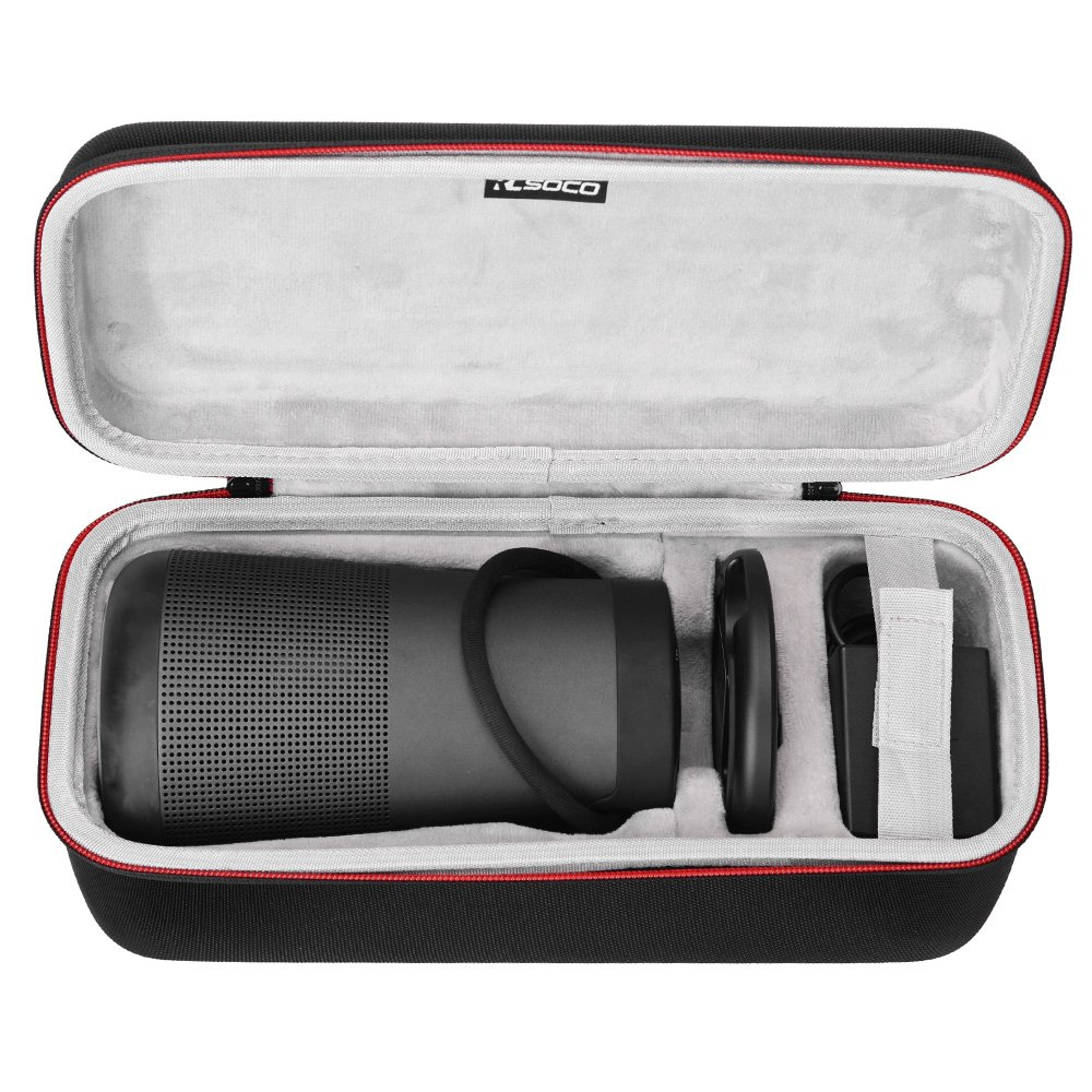RLSOCO Hard Travel Case Compatible for Bose SoundLink Revolve Plus/Revolve + Portable Bluetooth 360 Speaker