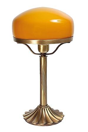 Exclusiva lámpara de mesa SETA lámpara Bronce de pie (latón ...