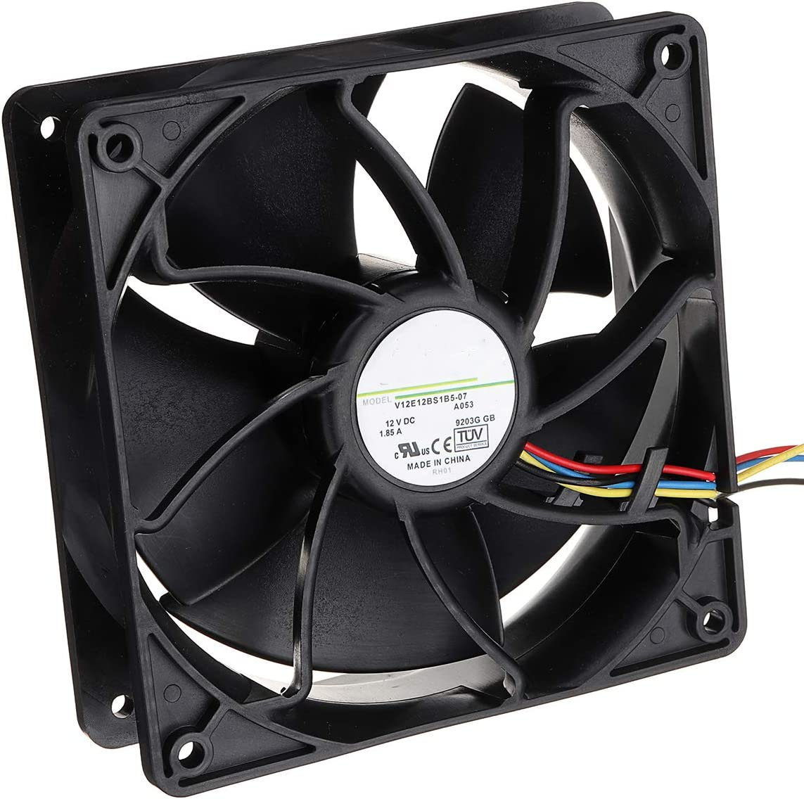 6500RPM Cooling Fan Vovomay Replacement 4-pin Connector for Antminer Bitmain S7 S9