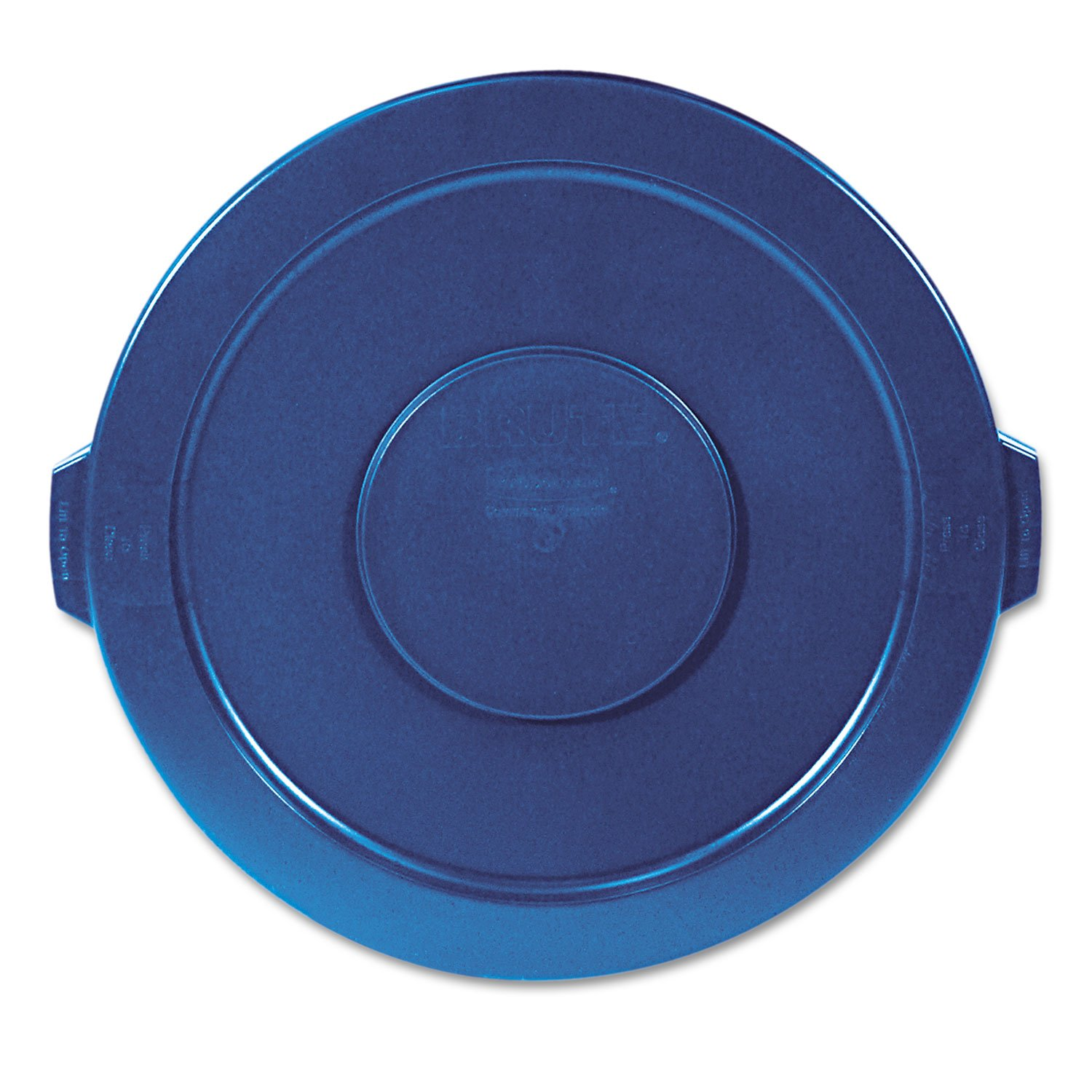 Rubbermaid 263100BE Brute Lid Only for 32 Gal Container, Blue