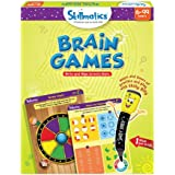 Skillmatics Educational Game: Brain Games | Reusable Activity Mats with Dry Erase Marker | Gifts, Travel Toy & Learning Tools