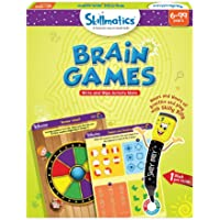 Skillmatics Educational Game: Brain Games (6-99 Years) | Erasable and Reusable Activity Mats | Travel Toy with Dry Erase…