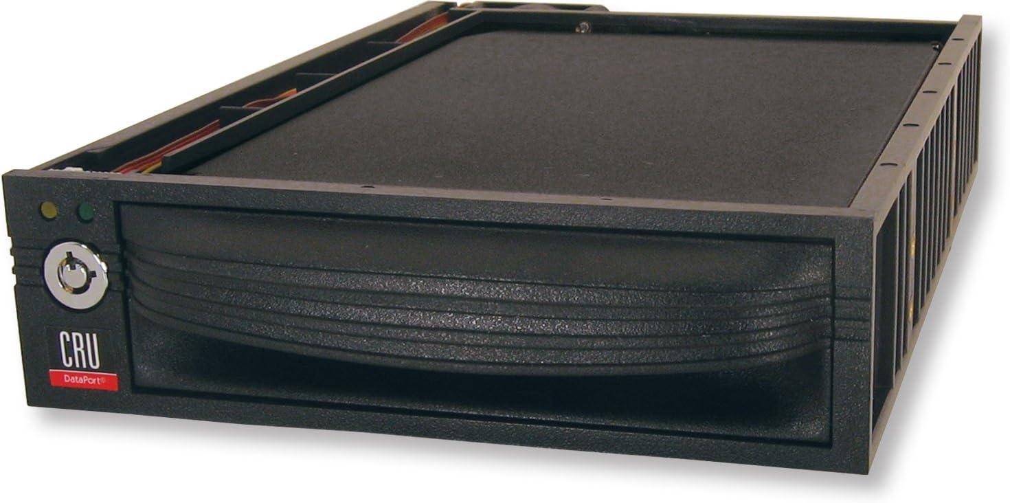 CRU dataport 30 complete assembly SATA silver lock rohs black