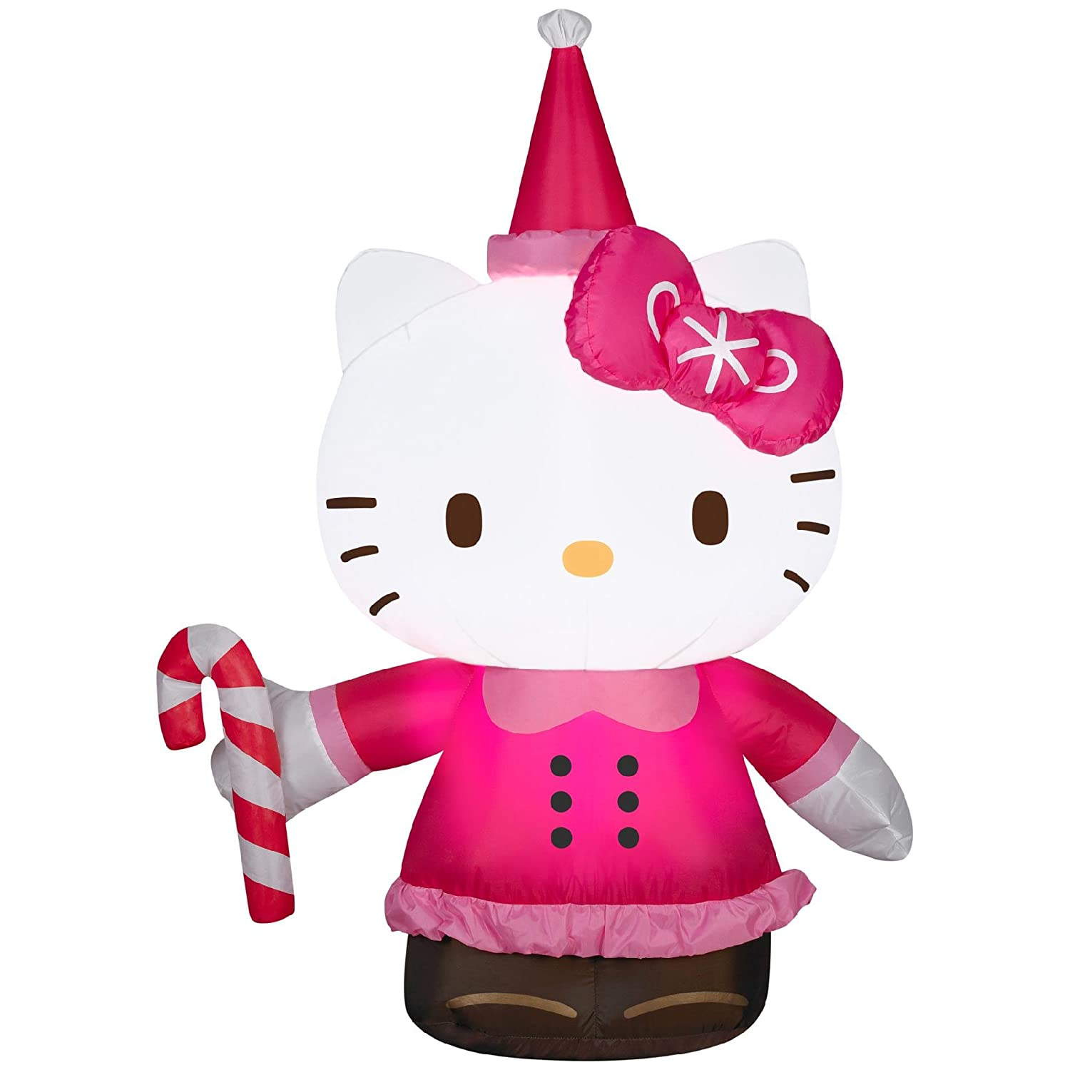 Amazoncom 35 Hello Kitty Airblown Christmas Decoration Garden
