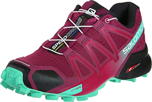 SALOMON Speedcross 4 W, Calzado de Trail Running para Mujer: Amazon.es: Zapatos y complementos