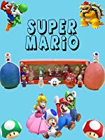 Super Mario Series 3 Minifigure Unboxing and Play Doh Surprise Egg Knex Blind Bag Opening [OV]