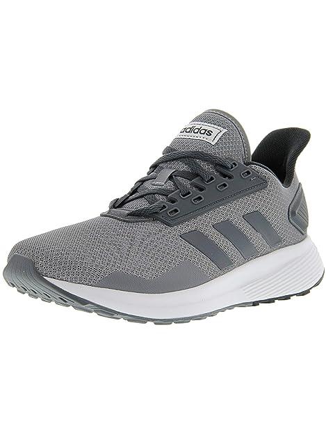 adidas - Duramo 9 Hombre, (Grey-Onix-White), 7.5 M US: Amazon.es: Zapatos y complementos