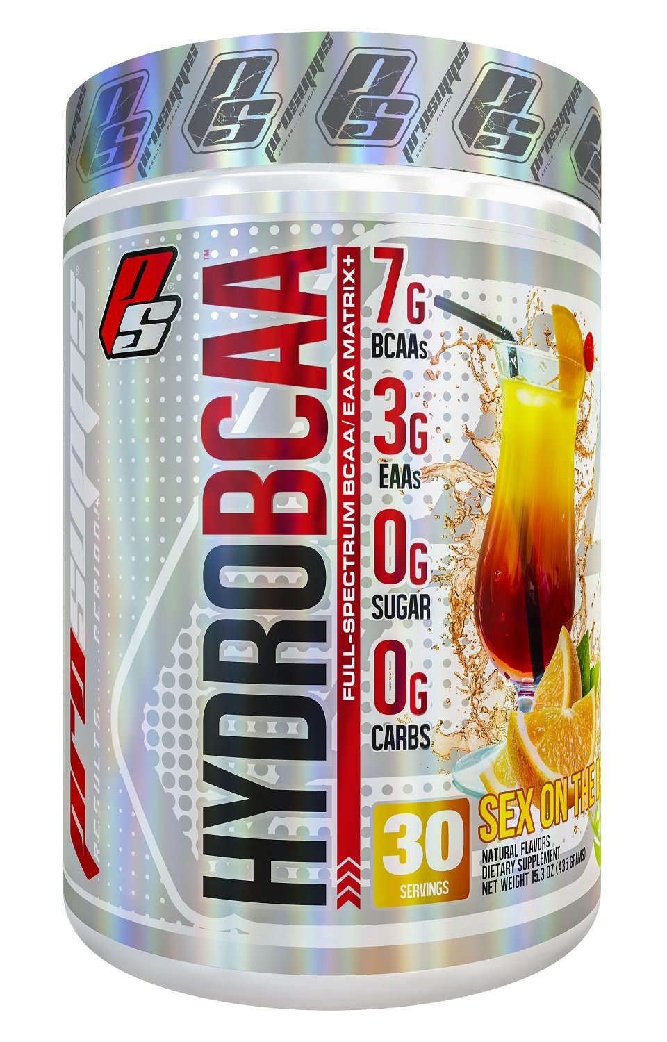 HydroBCAA BCAA/EAA Full Spectrum Matrix, 7g BCAAs, 3g EAAs, 0g Sugar, 0g Ccarbs, 30 servings, 15.3 oz. (Sex On The Beach Flavor)