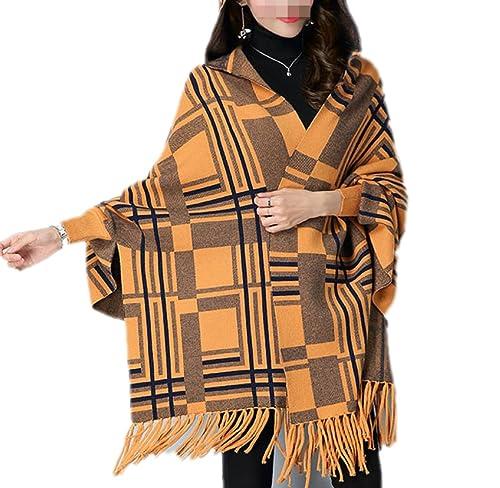 QPALZM Nueva Rebeca De Punto De La Moda De Otoño E Invierno De Las Mujeres Chaqueta De Punto Suéter ...