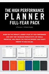 High Performance Planner Full-Year Pack: 6 Planners = 12-Month Supply Diary
