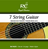 Royal Classics RG70 Russian Guitar Nylon Guitar Strings, Custom Tension 7-String Set