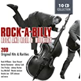 ROCKABILLY - 200 Original Hits and Rarities of Rock And Roll & Hillbilly: Honky Tonk Man, Rockhouse, Get Rhythm, Blue Moon Of Kentucky, ...