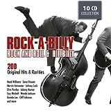 ROCKABILLY - 200 Original Hits and Rarities of Rock And Roll & Hillbilly: Honky Tonk Man, Rockhouse, Get Rhythm, Blue Moon Of Kentucky, ...